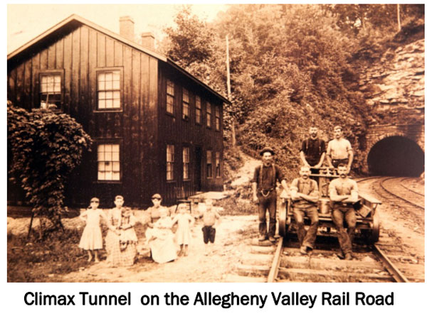 Climax Tunnel Rail Road - Climax PA