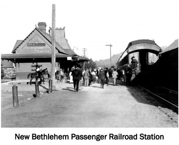 Railroad Station - New Bethlehem PA